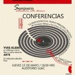 Imagen Última Sesión Seminario: Literatura, arte, devenir