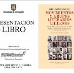 Imagen PRESENTACIÓN DEL LIBRO: Diccionario de Movimientos y Grupos Literarios Chilenos