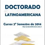 Imagen Doctorado en Literatura Latinoamericana: Cursos 2° Semestre 2014