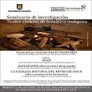 """Imagen Seminario de investigación """"Teatro chileno de temática indígena"""""""