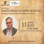 """Imagen CONFERENCIA """"Martín Rivas y nuestro siglo XIX"""""""