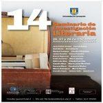 Imagen 14 SEMINARIO DE INVESTIGACIÓN LITERARIA