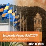 Imagen Dirección de Postgrado ofrece nuevos cursos para Escuela de Verano UdeC