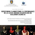 Imagen REPERTORIOS CLANDESTINOS: EL PERFORMANCE DE LA LUCHA ARMADA EN MATELUNA DE GUILLERMO CALDERÓN