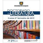 Imagen Asignaturas Doctorado en Literatura Latinoamericana – 2do. semestre de 2019.